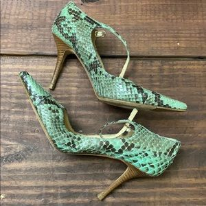 Cole Haan Genuine Python High Heels